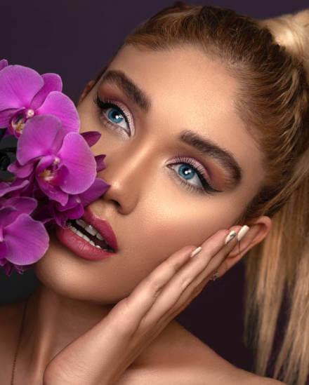 strahlend schöne Augen